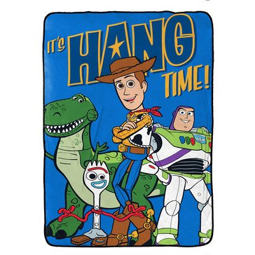 Toy Story 4 Throw Blanket
