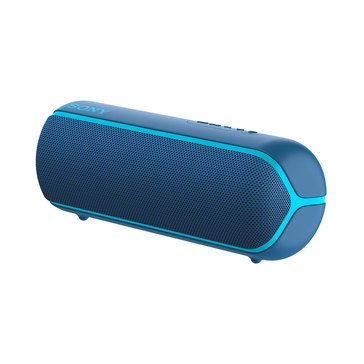 Sony XB22 Extra Bass Portable Bluetooth Speaker, Blue