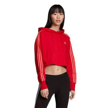 Adidas Women's Originals Cropped Hoodies