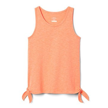 Yarn & Sea Little Girls' Side Knot Tank