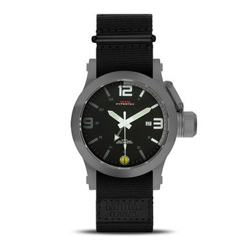 MTM Special Ops Gunmetal Gray/Gray White Black Watch, 44mm