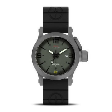 MTM Special Ops Gunmetal Sport Gray/Green Black Band Watch, 44mm