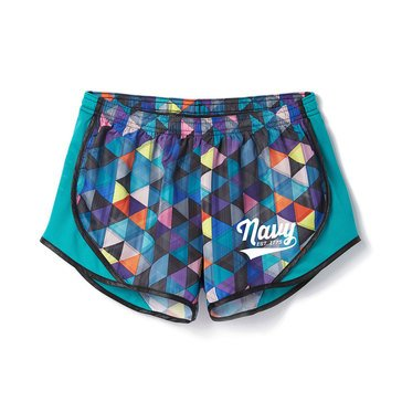 Soffe Women's USN Printed Team Shorty Shorts