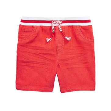 First Impressions Baby Boys' Color Denim Shorts