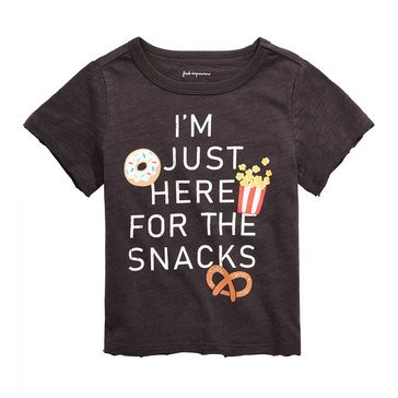 First Impressions Baby Boys' Here For Snacks Tee