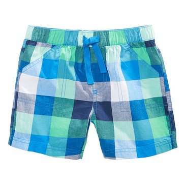 First Impressions Baby Boys' Carnival Plaid Shorts