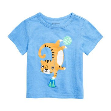 First Impressions Baby Boys' Dancing Tiger Tee