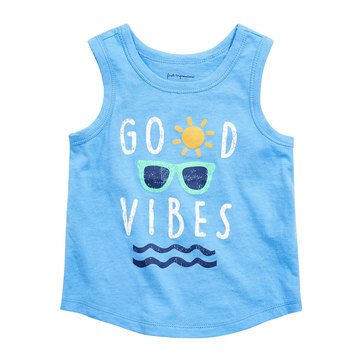 First Impressions Baby Boys' Good Vibes Tank
