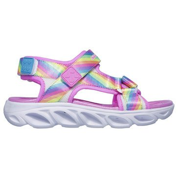 Skechers Kids Girls Hypno Splash Lighted Sandal (Little Kid)