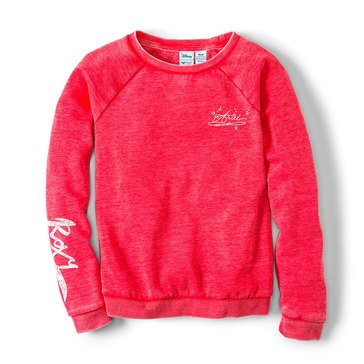 Roxy Big Girls' Disney Pompom Fleuri Sweatshirt