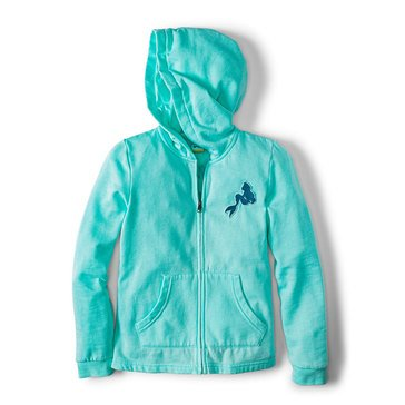 Roxy Big Girls' Disney Mask And Snorkels Zip-Up Hoodie
