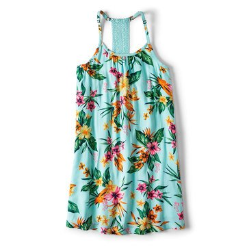 Roxy Big Girls' Disney Exotic Nature Strappy Dress