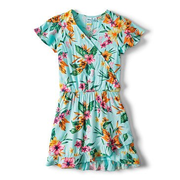 Roxy Big Girls' Disney Her Fantasy Print Woven Dress