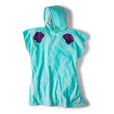 Roxy Big Girls' Disney Pass This On Age Surf Poncho