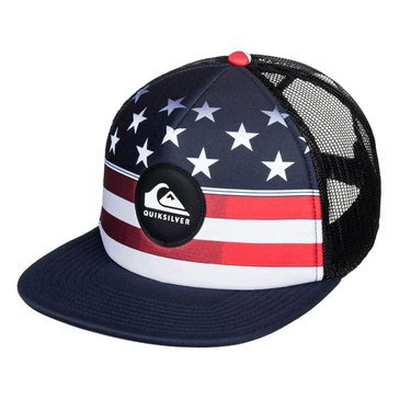 Quiksilver Men's Fazers USA Trucker