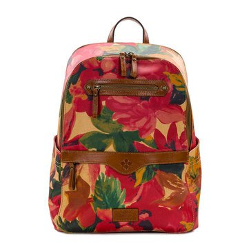 Patricia Nash Coated Canvas Spring Multi Karina Backpack