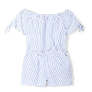 Yarn & Sea Toddler Off Shoulder Romper