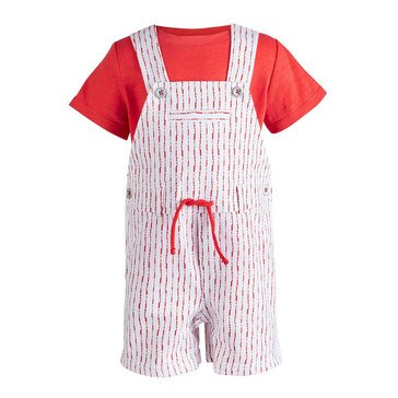 First Impressions Baby Boys' Shibori Shortall Set
