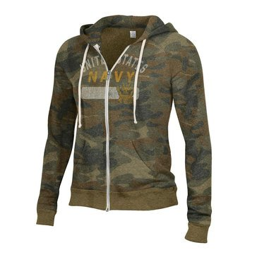 Gear For Sports Women's USN With Eagle Camo Full Zip