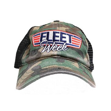 Valor Fleet Week NY 2019 Camo Embroidered Mesh Hat