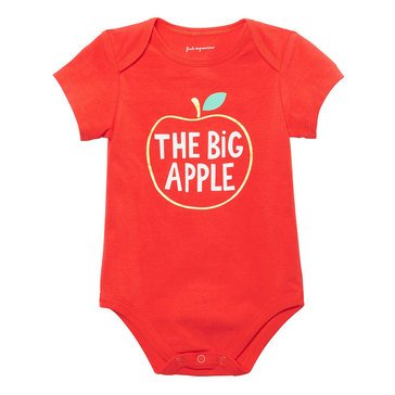 First Impressions Newborn Apple Bodysuit