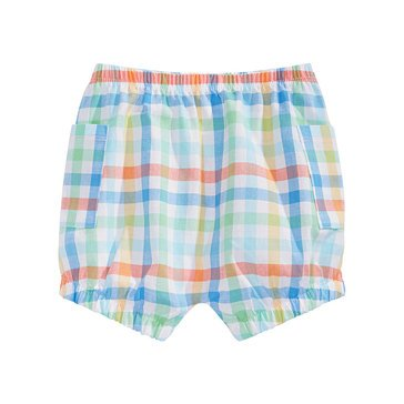 First Impressions Newborn Plaid Bloomer