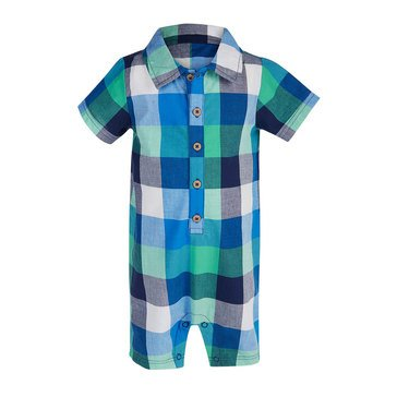 First Impressions Baby Boys' Carnival Plaid Short Set