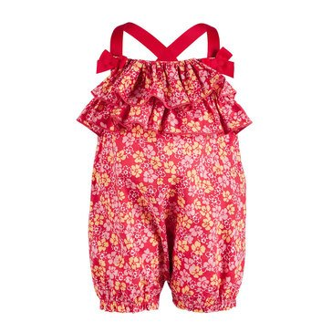 First Impressions Baby Girls' Floral Sunsuit