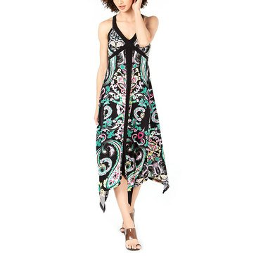 I.N.C. International Concepts Women's Paisley Print Halter Dress