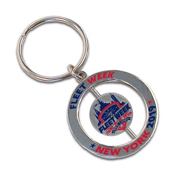 MCM Fleet Week NY 2019 Spinner Keytag