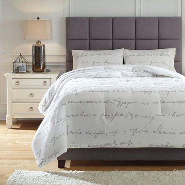 Signature Design By Ashley 3-Piece Adrianna Comforter Set