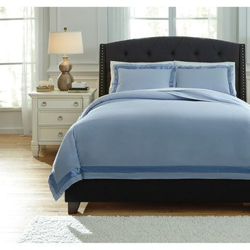 Signature Design By Ashley 3-Piece Farday Duvet Cover Set