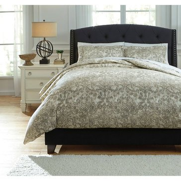 Signature Design By Ashley 3-Piece Kelby Duvet Cover Set