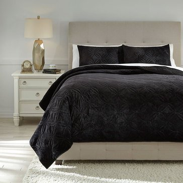 Signature Design By Ashley 3-Piece Linette Quilt Set