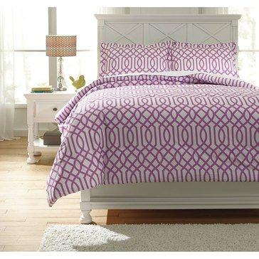 Signature Design By Ashley 2-Piece Loomis Comforter Set