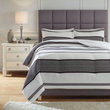 Signature Design By Ashley 3-Piece Masako Comforter Set