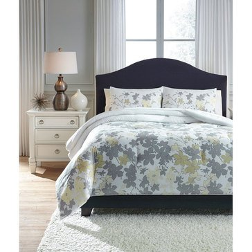Signature Design By Ashley 3-Piece Maureen Comforter Set