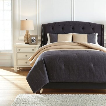 Signature Design By Ashley 3-Piece Medi Comforter Set
