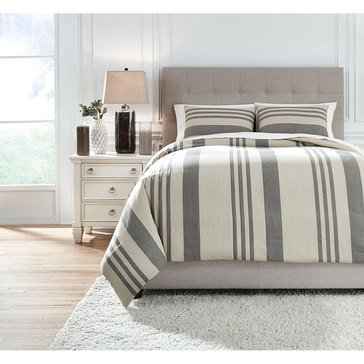 Signature Design By Ashley 3-Piece Schukei Comforter Set