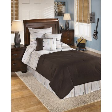 Signature Design By Ashley 5-Piece Stickly Comforter Set