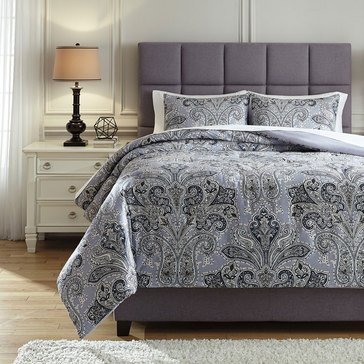 Signature Design By Ashley 3-Piece Susannah Comforter Set