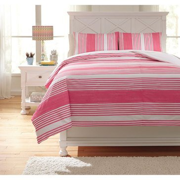 Signature Design By Ashley Taries Duvet Cover Set