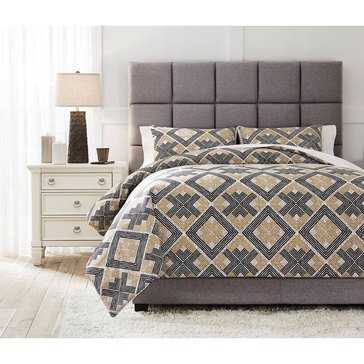 Signature Design By Ashley 3-Piece Scylla Comforter Set
