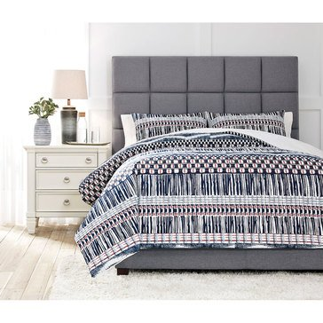 Signature Design By Ashley 3-Piece Shilliam Comforter Set