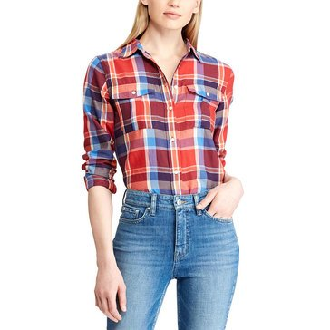 Lauren Ralph Lauren Women's Plaid Courtenay Shirt