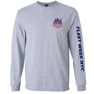 The Game Men's Classic Long Sleeve Tee Fleet Week 2019