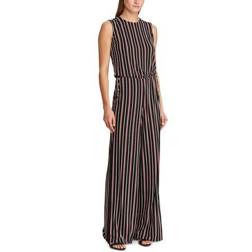 Lauren Ralph Lauren Women's Tobii Striped Jumpsuit