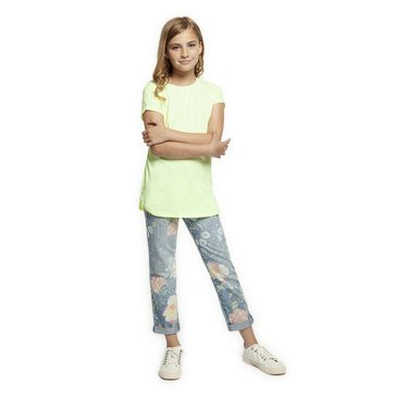 Dex Big Girl's' Knit Round Hemmed Top