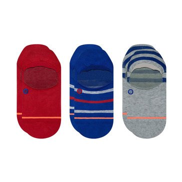 Stance Women's 3-Pack Stripe True Color Invisible Socks