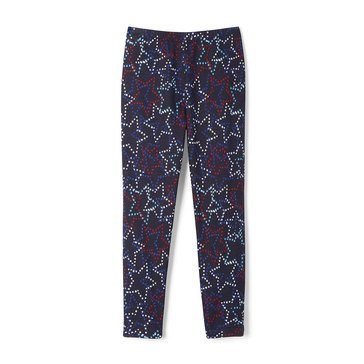 Yarn & Sea Little Girls' Print Capri Leggings